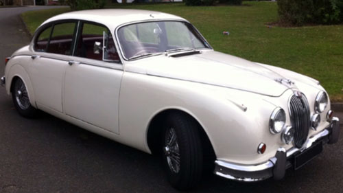 1965 Jaguar S-Type (white)