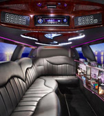 Millenium Facelift Limousines - interior