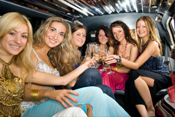limo hire hen nights