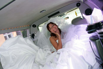limo hire weddings